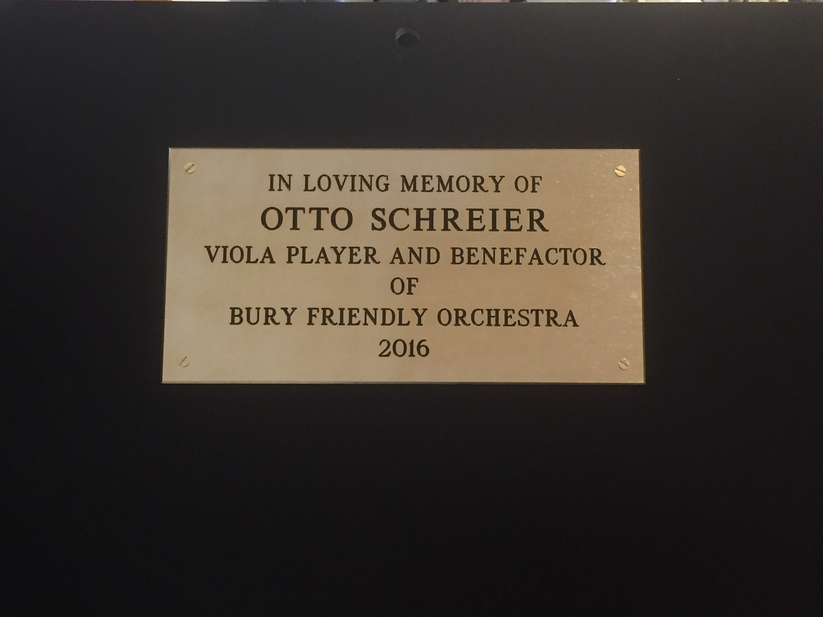 Otto's podium
